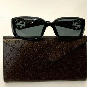 Gucci GG 3504/S D28BN Black Sunglasses 55-17 ITALY